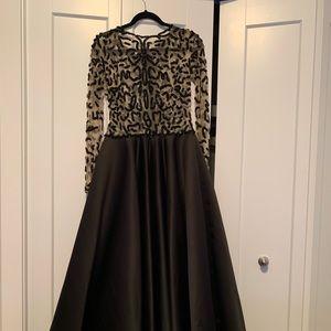 Tarik eidz embellished gown